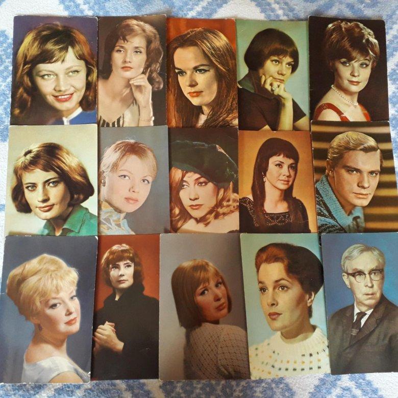 питерского набор открыток с советскими актерами плавал другой