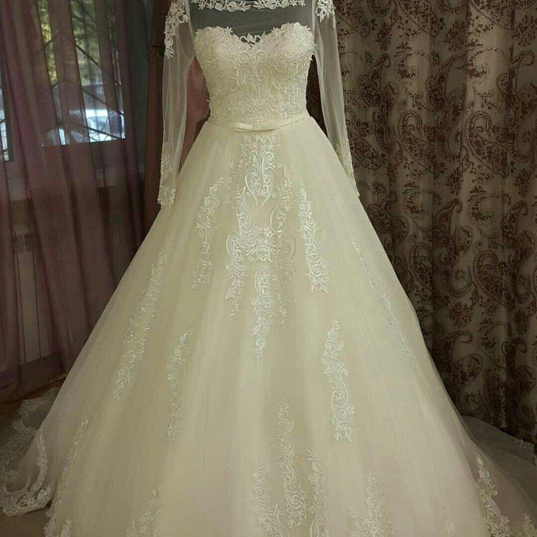 картинки на авито свадебное платье роскошными длинными