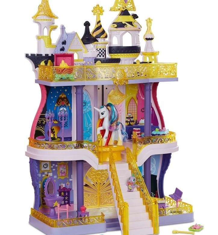 Картинки игрушки замок селестии