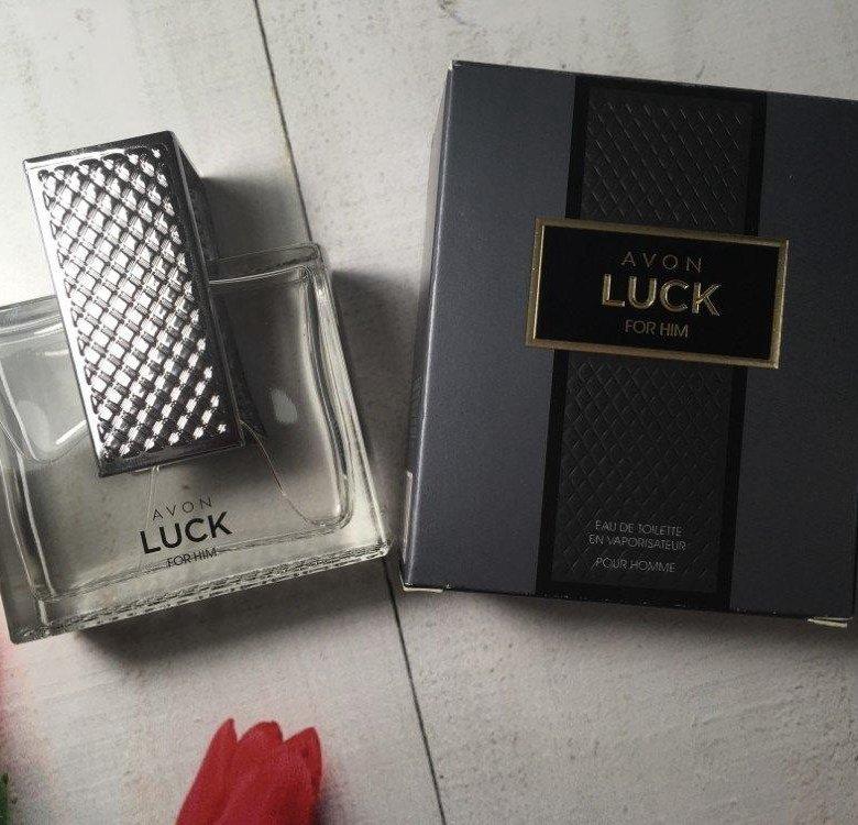 Avon luck for men avon и мы