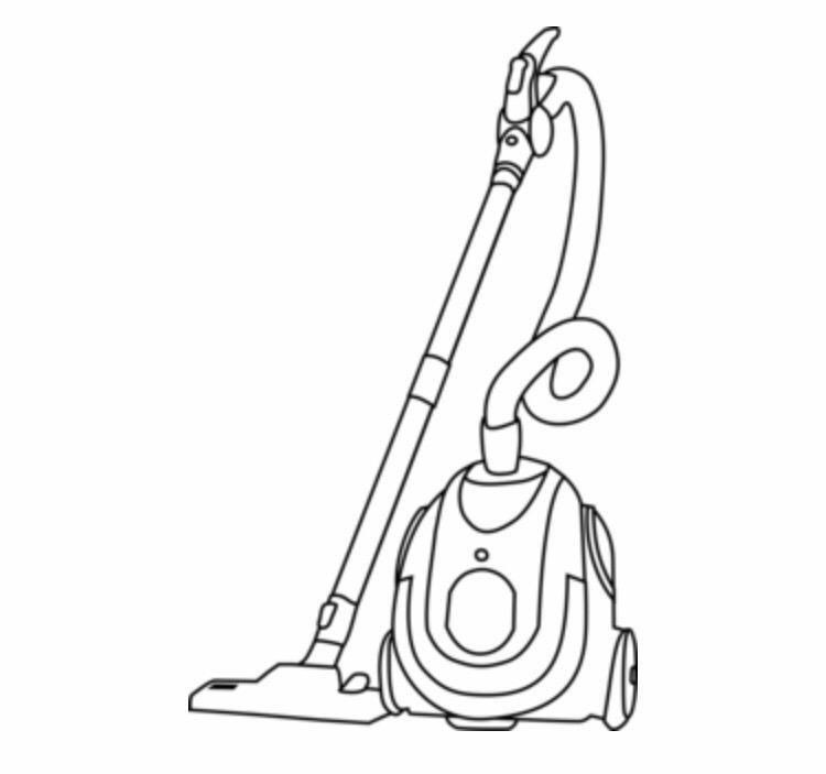Картинка рисунок пылесос