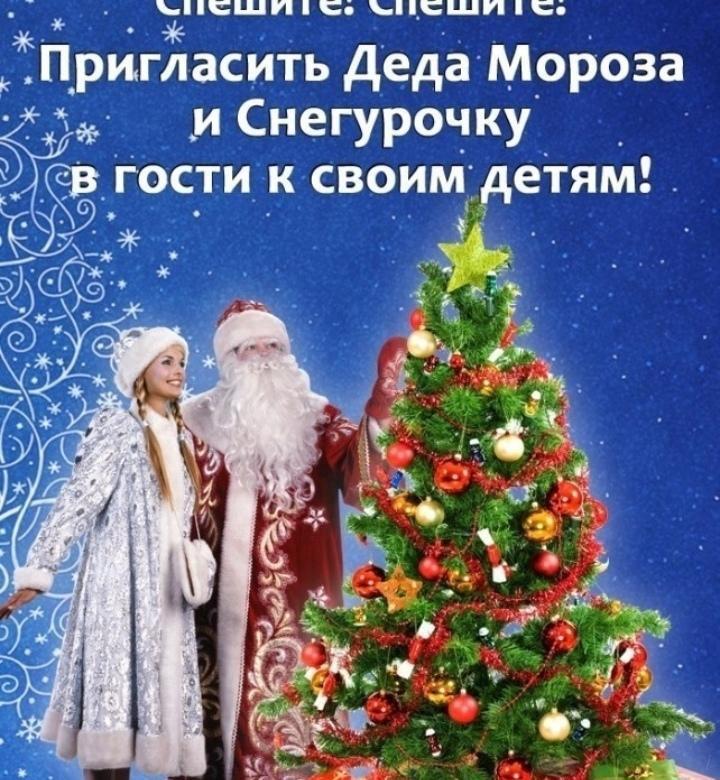 Цена поздравления дед мороза и снегурочки