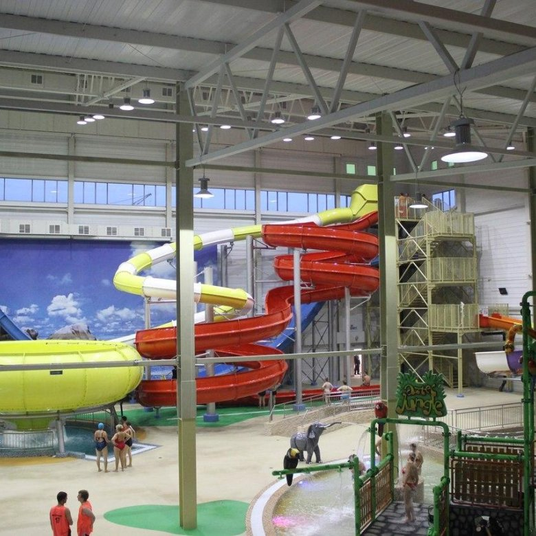 год аквапарк в омске фото уже