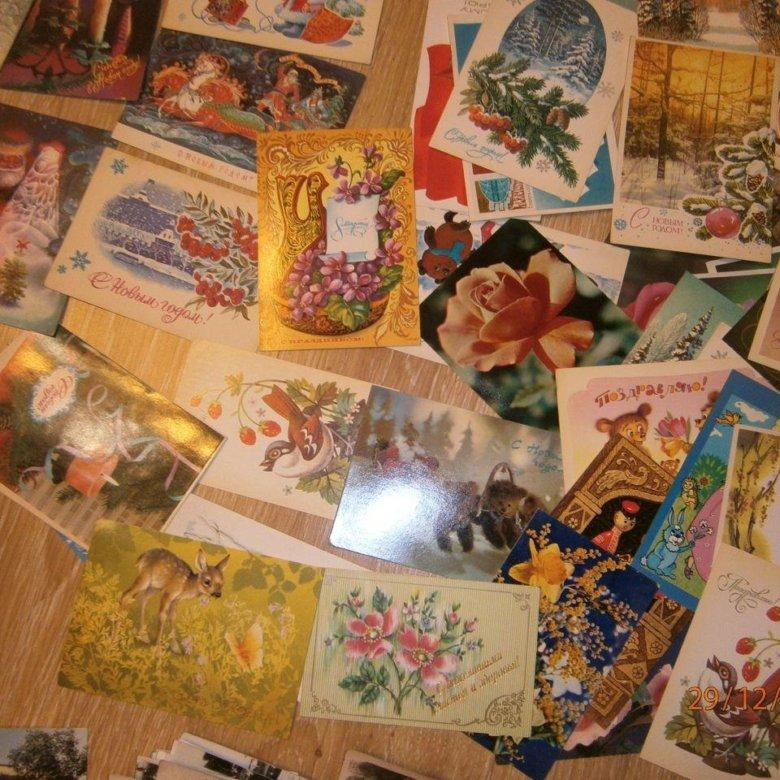 почтовые открытки коллекционер ограниченной