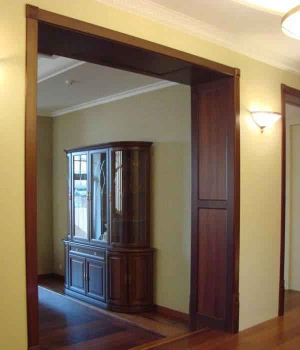 Дверные проемы с дверью фото