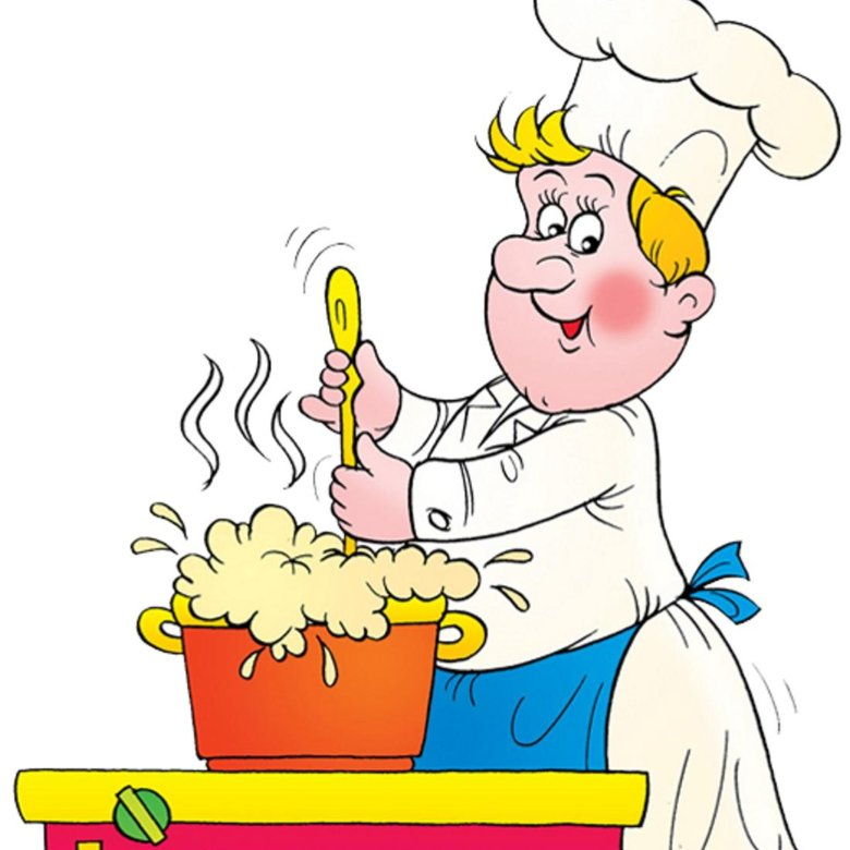 Картинка повар для детей в детском саду
