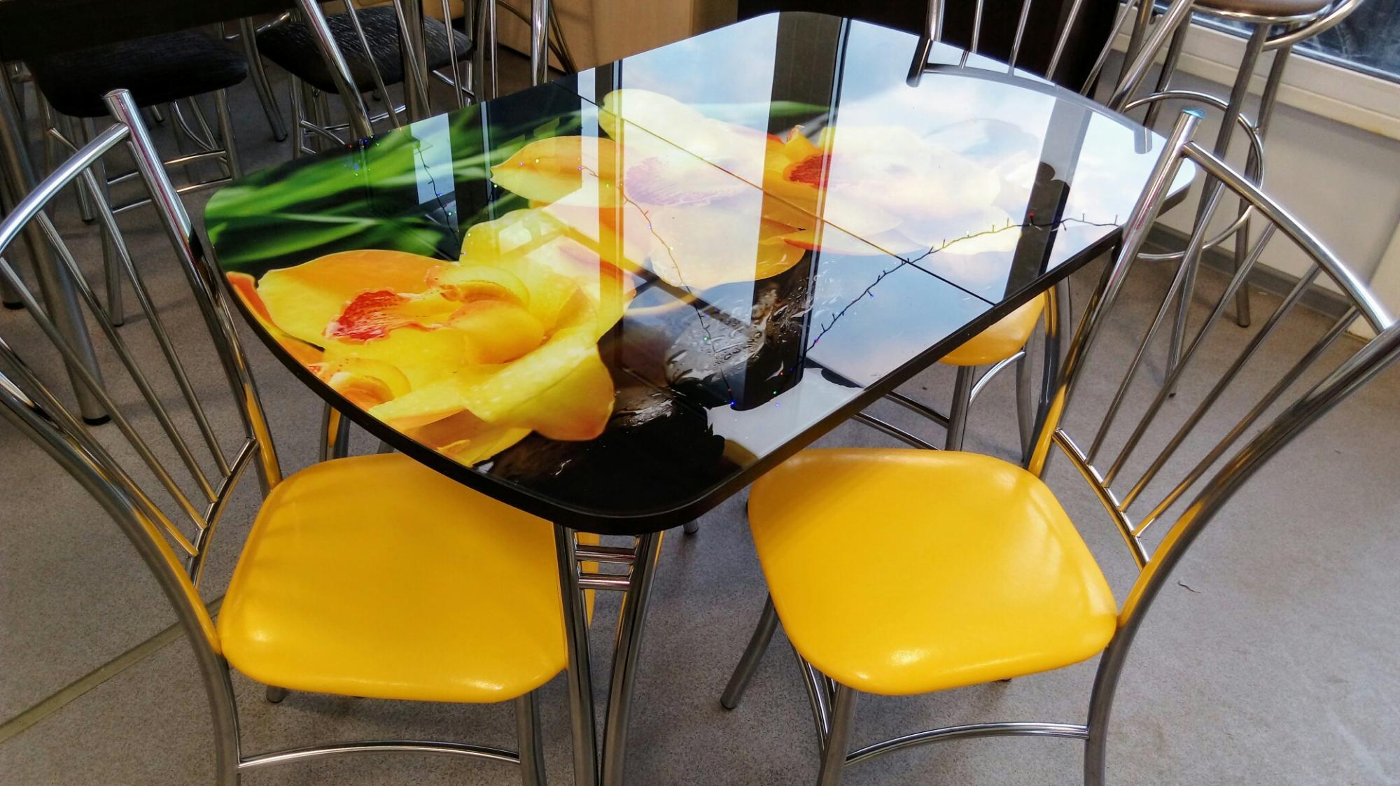 витекс священный столы и стулья с фотопечатью датчиком