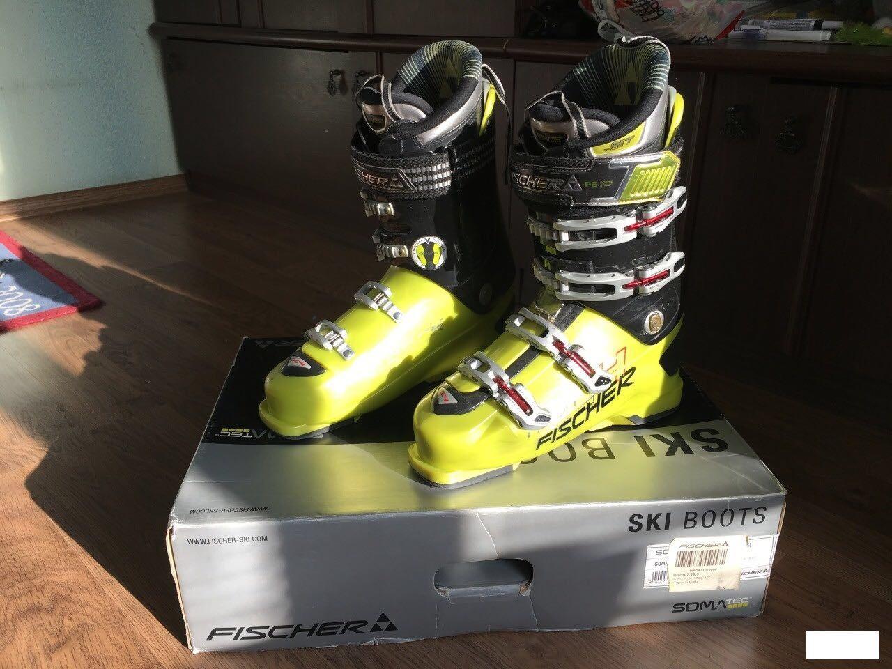Горнолыжные ботинки Fischer Soma RC4 Race 120 89104407086 купить 1