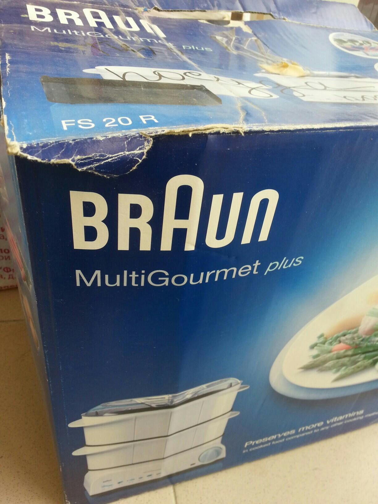 Пароварка BRAUN FS 20 R Multi Gourmet plus 89255858335 купить 4