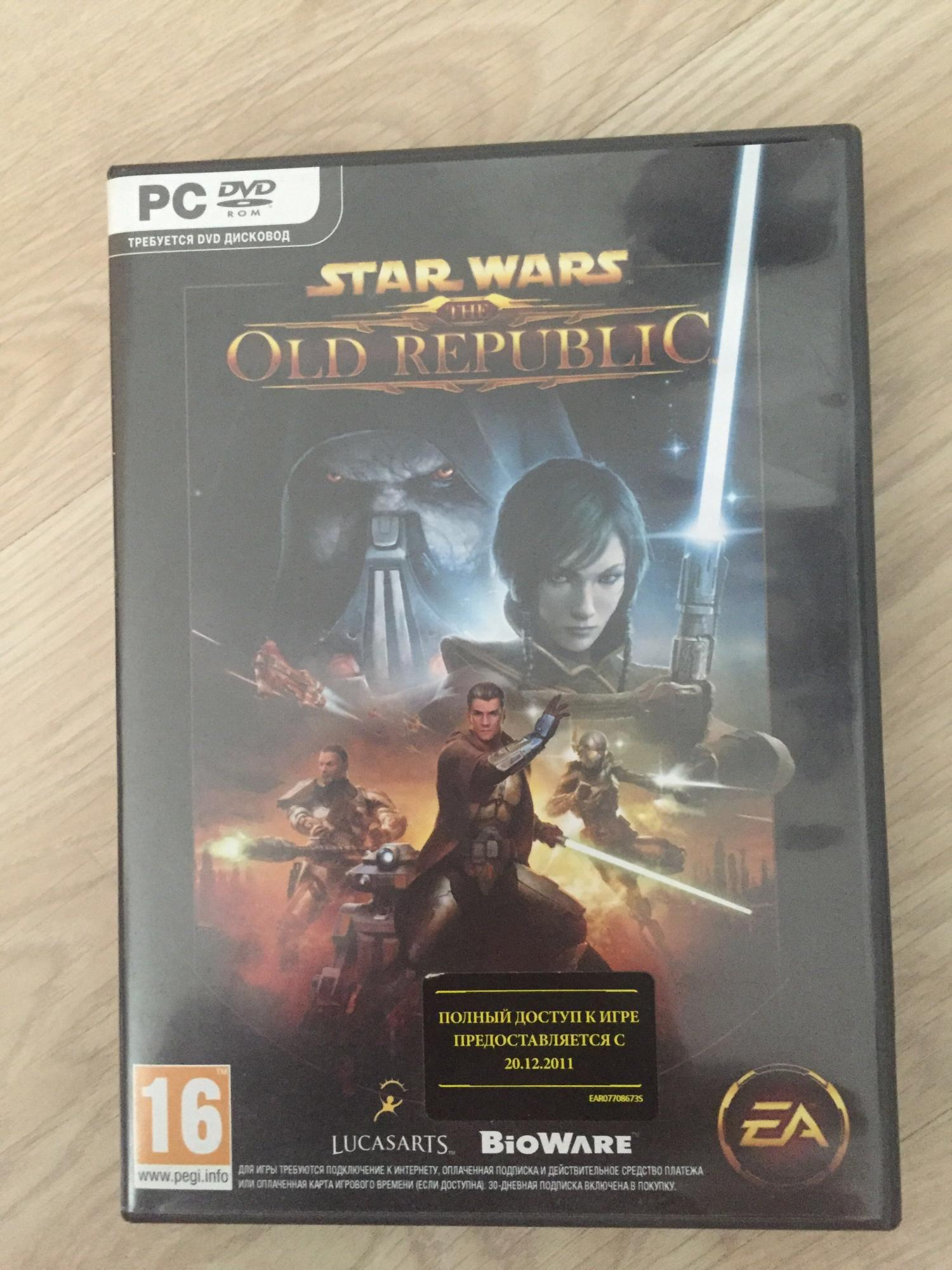 STAR WARS OLD REPUBLIC ( три диска комплект) 89265311912 купить 1