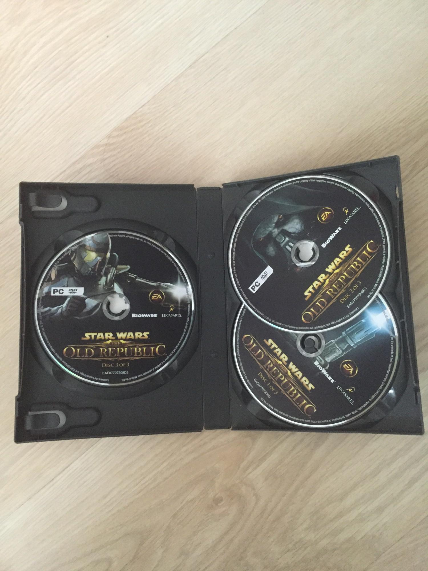 STAR WARS OLD REPUBLIC ( три диска комплект) 89265311912 купить 2