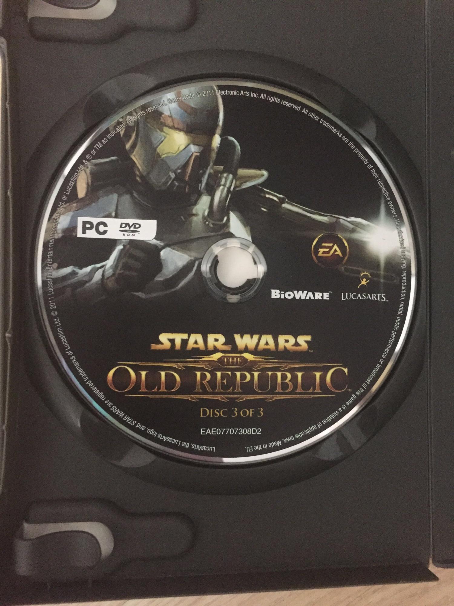 STAR WARS OLD REPUBLIC ( три диска комплект) 89265311912 купить 3