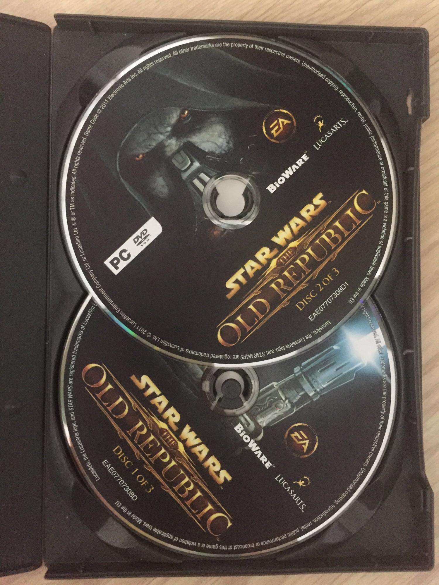 STAR WARS OLD REPUBLIC ( три диска комплект) 89265311912 купить 4