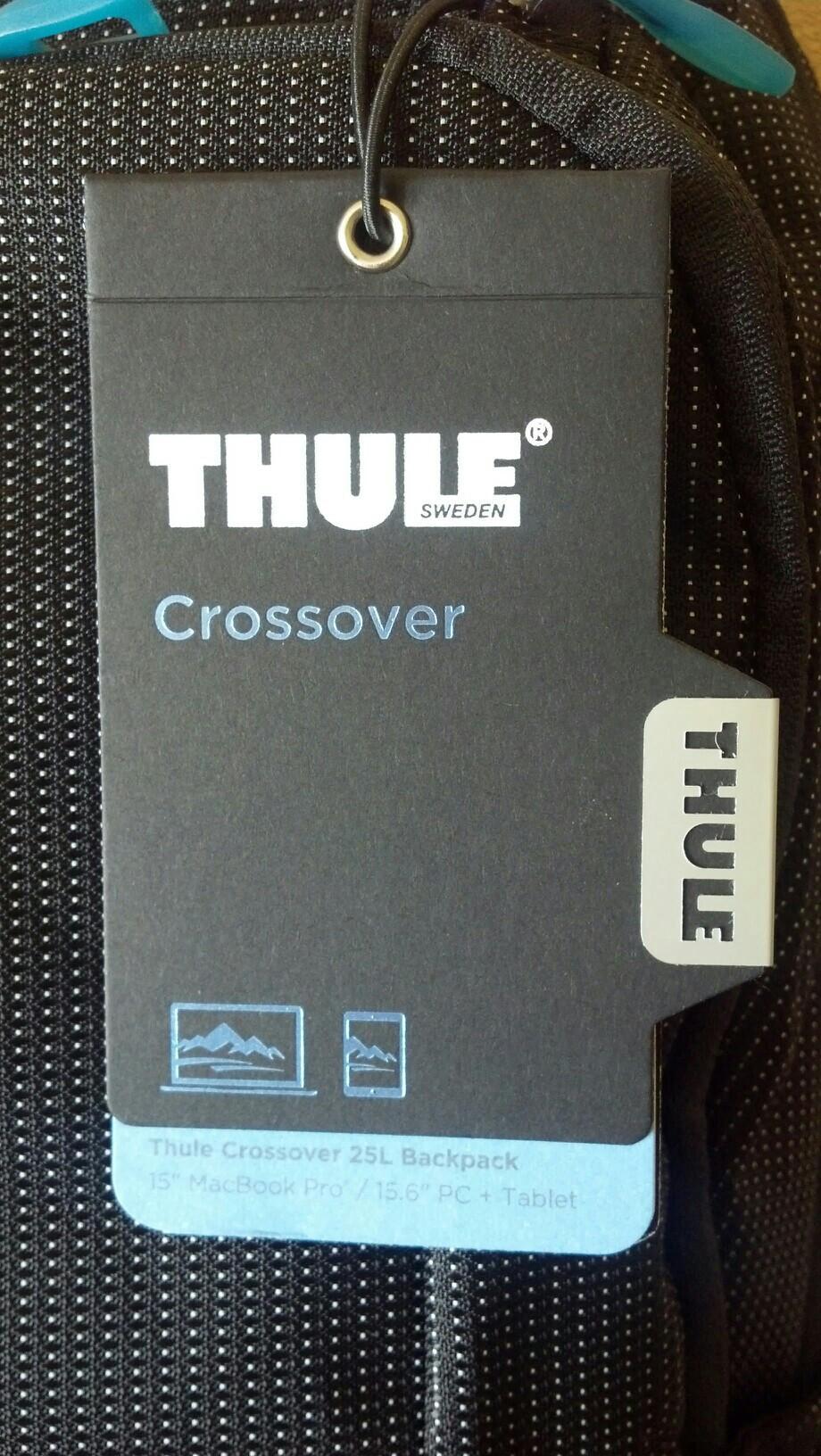 Рюкзак Thule Crossover 25 черн. синий 89261709797 купить 3