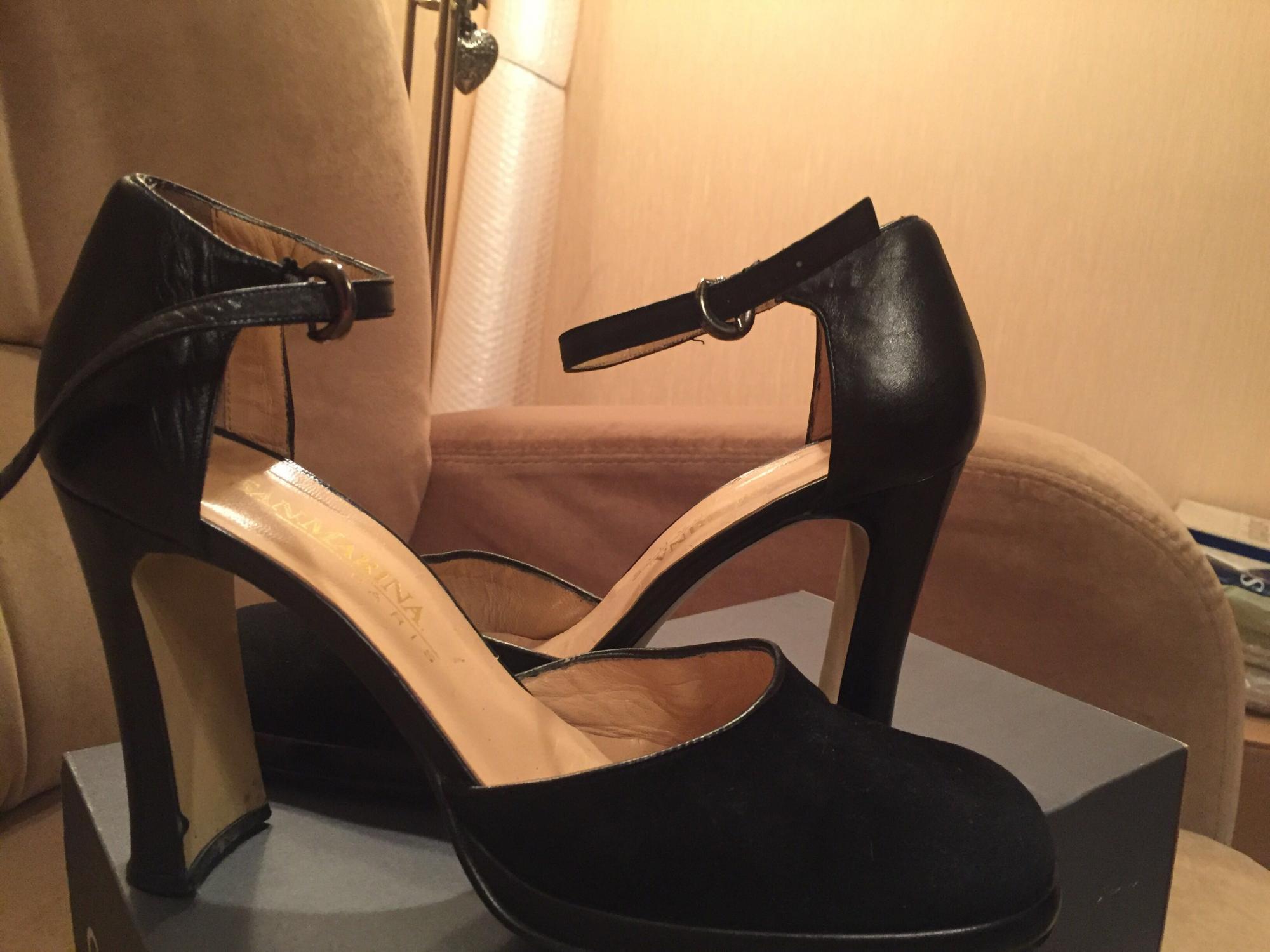 Женские туфли из натуральной кожи купить 4