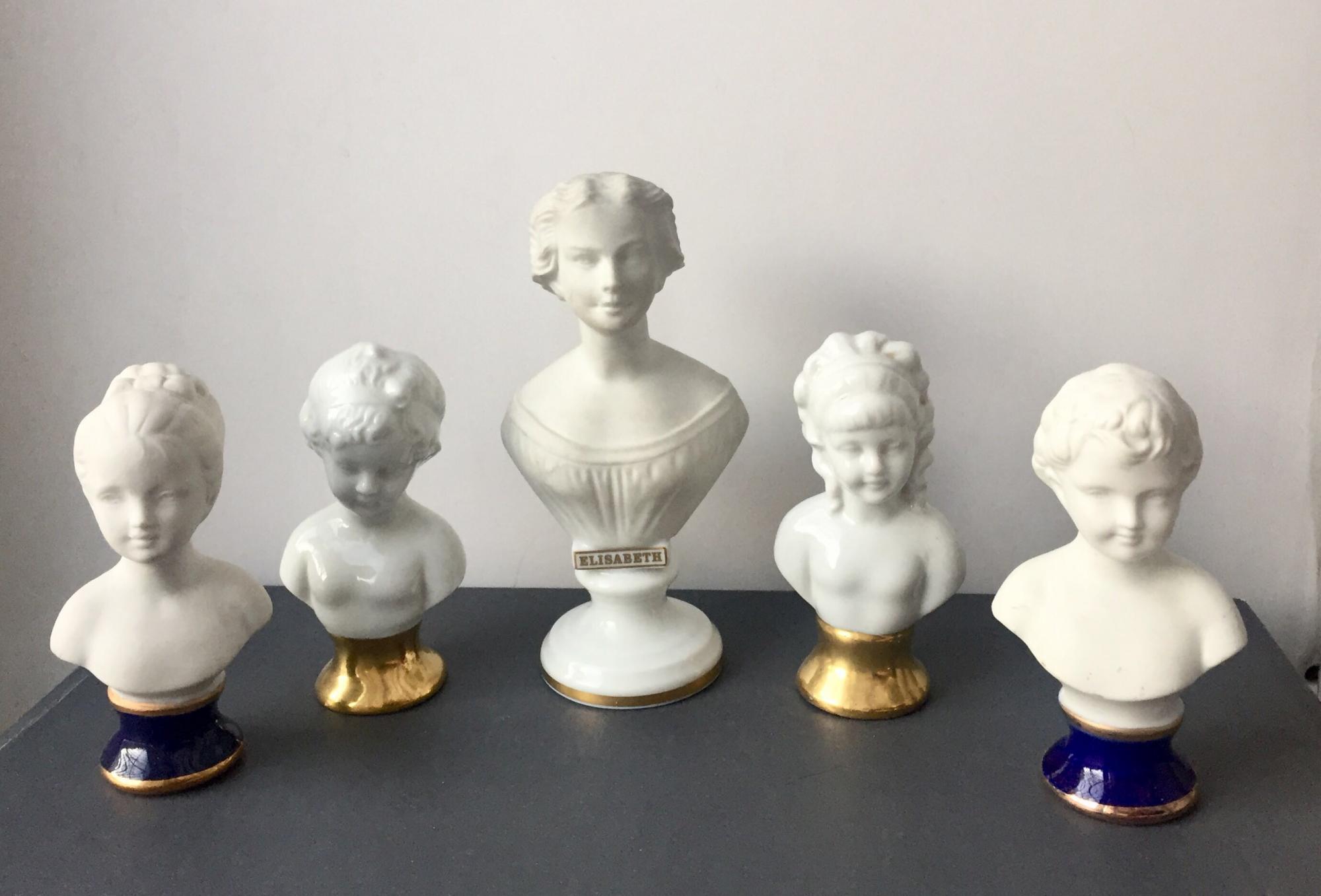 Статуэтки бюсты Фарфор коллекция 89858355070 купить 1