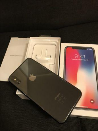 Как новый Apple iPhone X 256Гб Черный