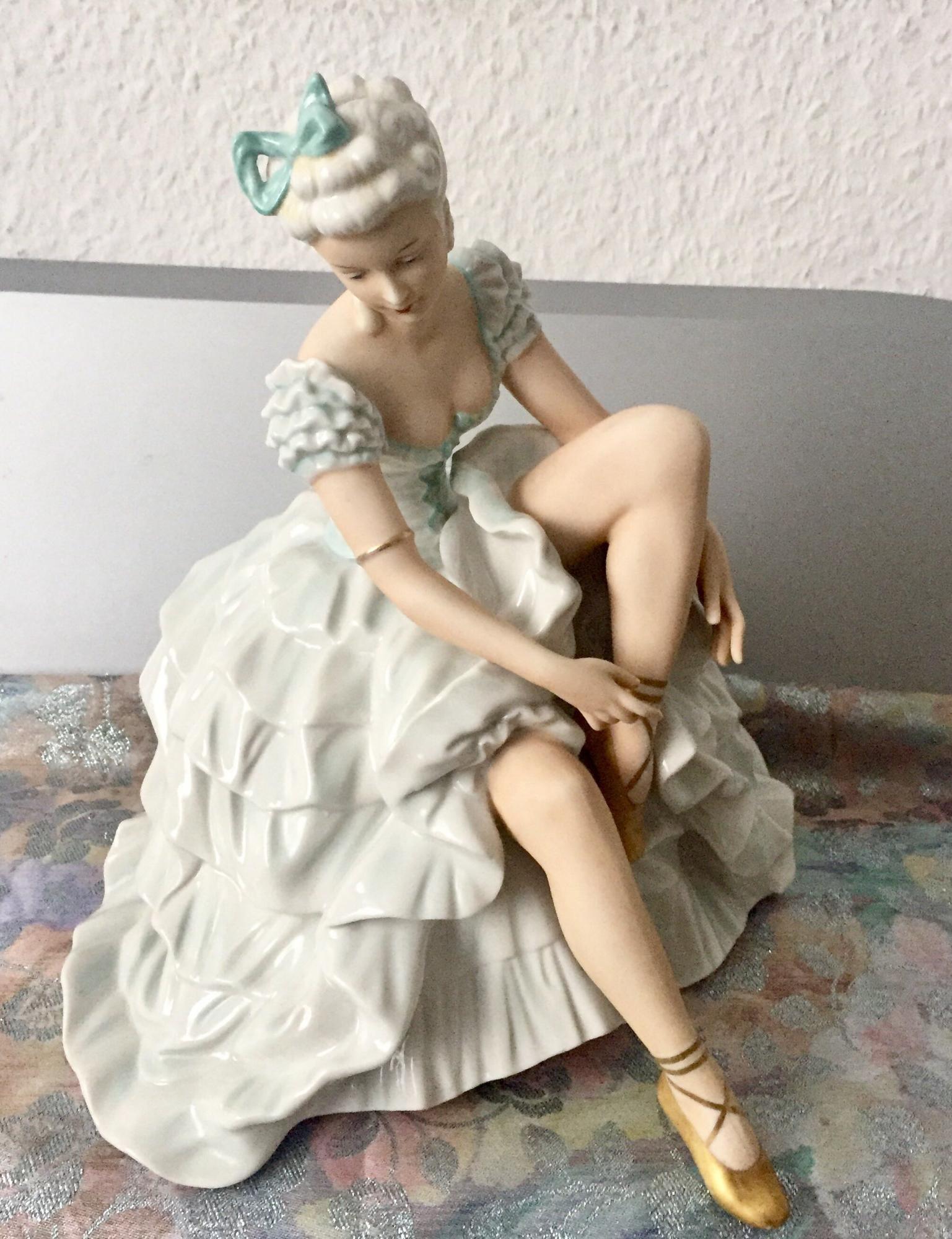 Unterweissbach Антикварная Большая Статуэтка 89858355070 купить 2