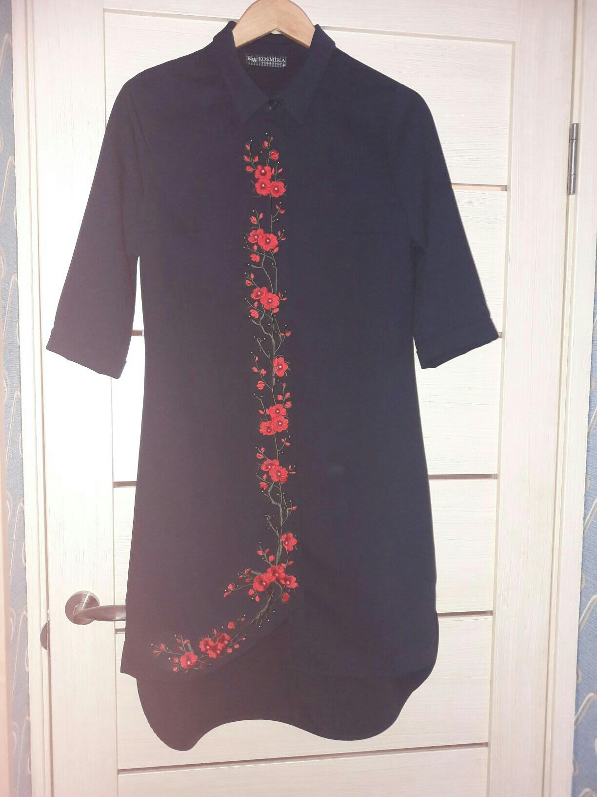 Новое платье рубашка. 89267633864 купить 1