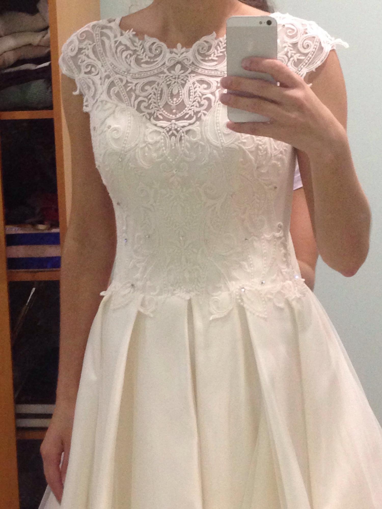 Свадебное платье, А-силуэт в Томилино 89060696848 купить 2