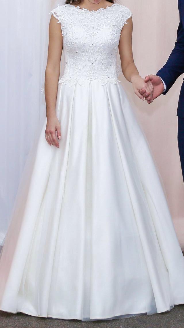 Свадебное платье, А-силуэт в Томилино 89060696848 купить 4