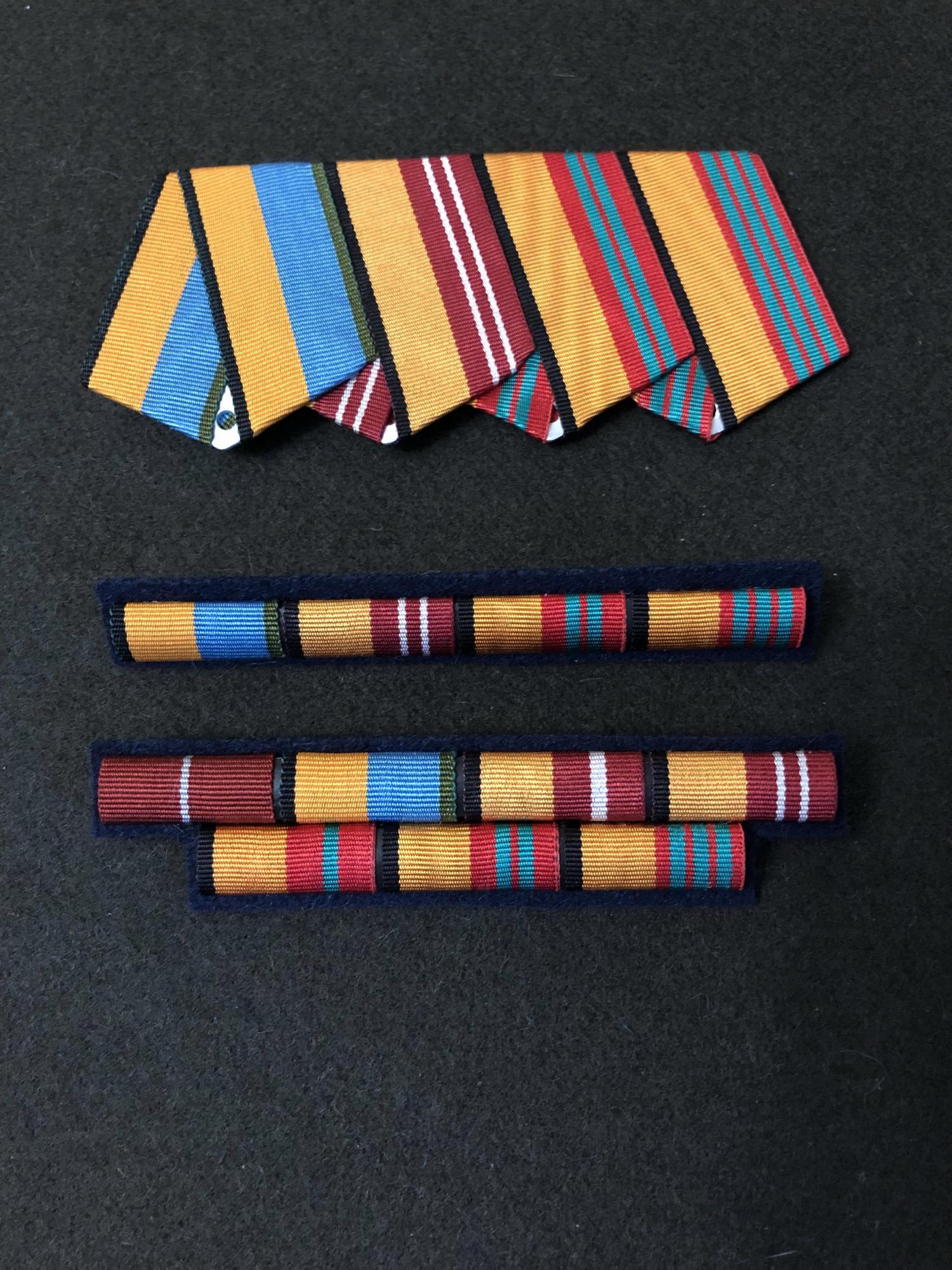 Service ribbon, pad