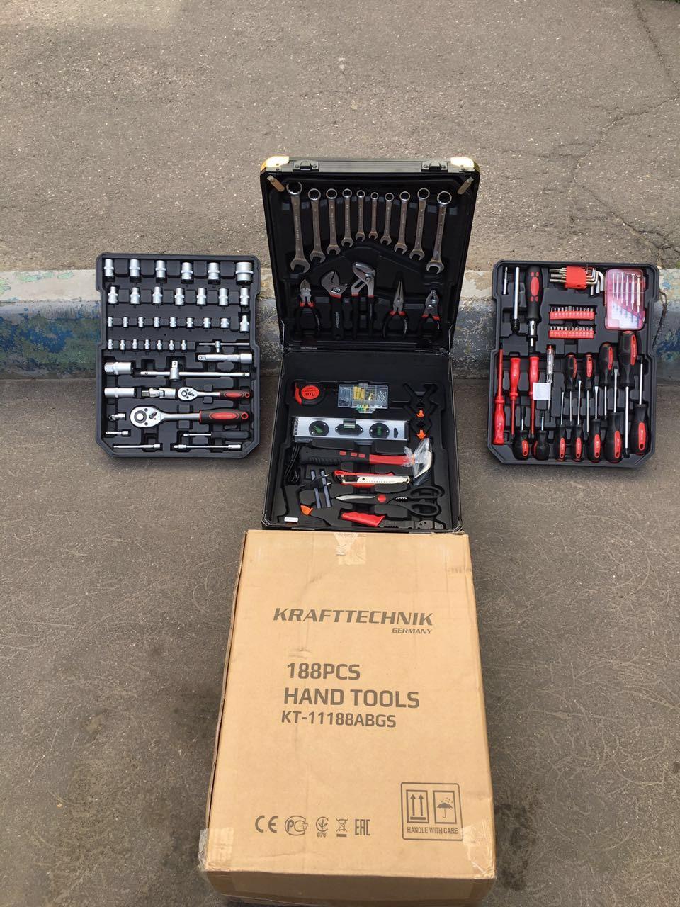 Инструмент krafttechnik 188 предметов 89998549374 купить 1
