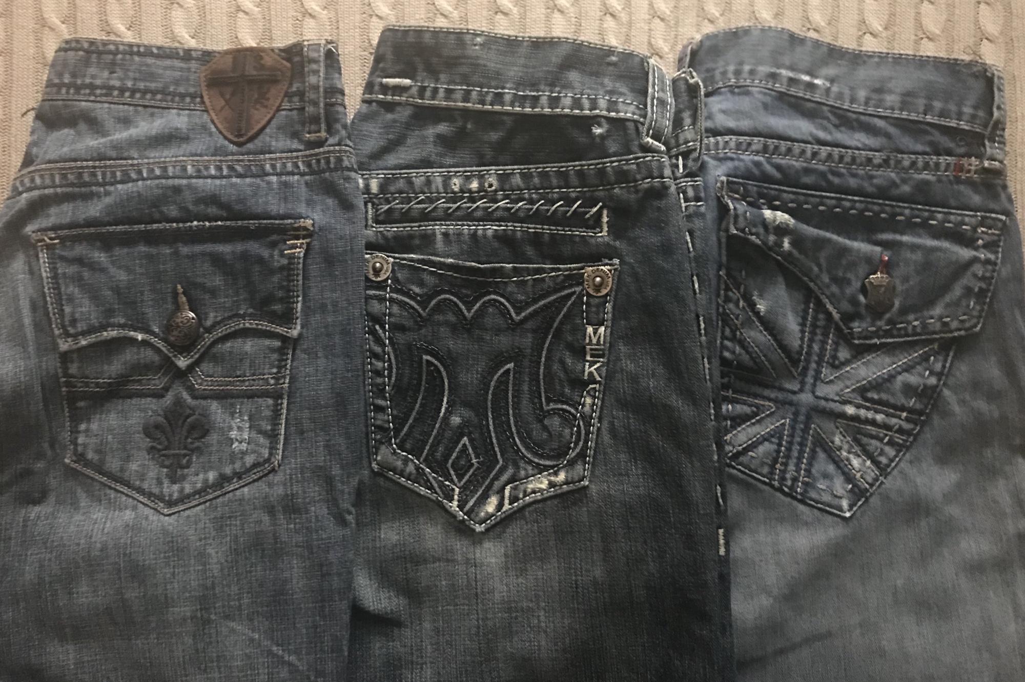 Фото дорогих американских джинс