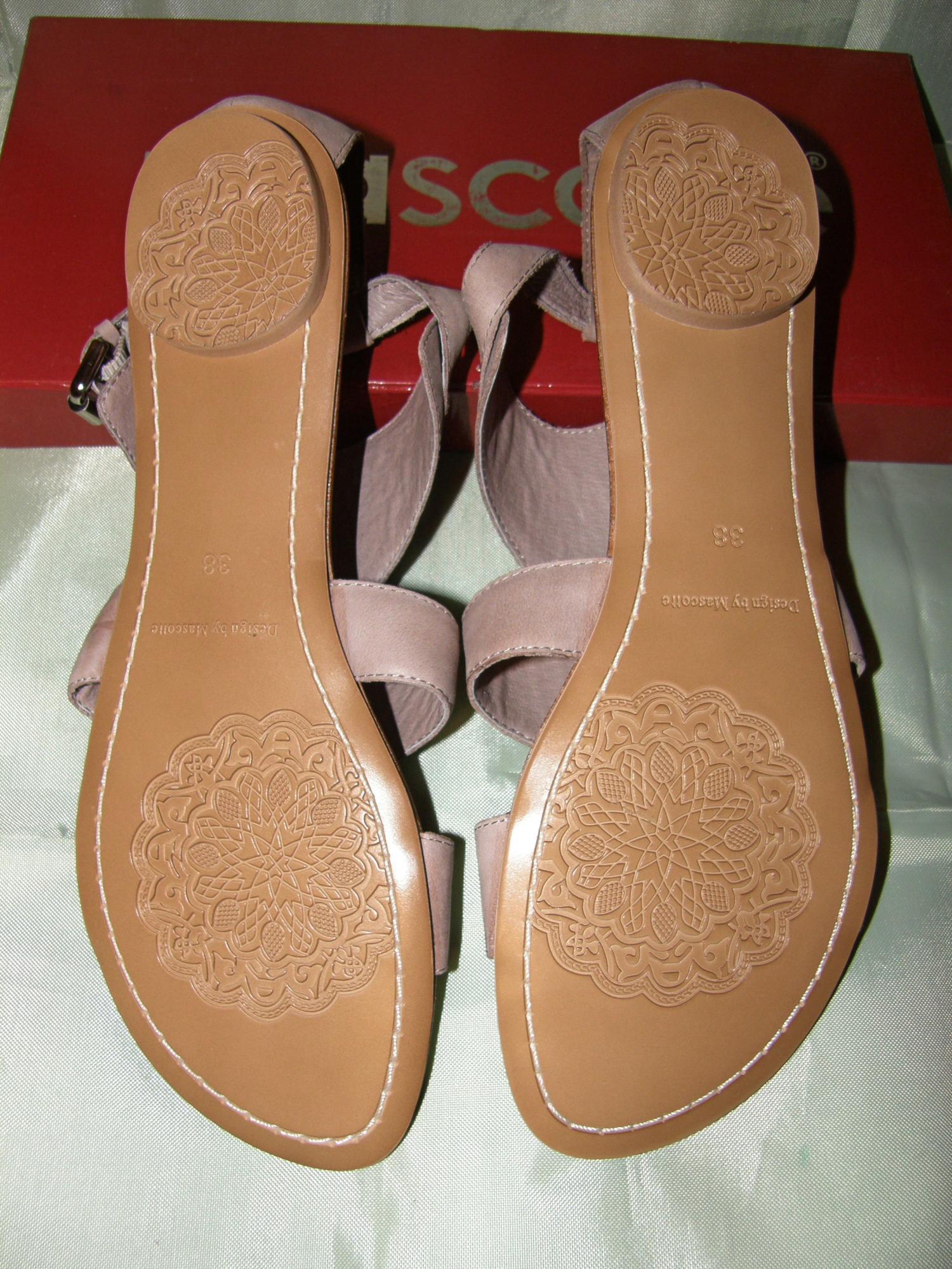 Новые Mascotte р38-39 сандалии босоножки нат. кожа в Москве купить 4