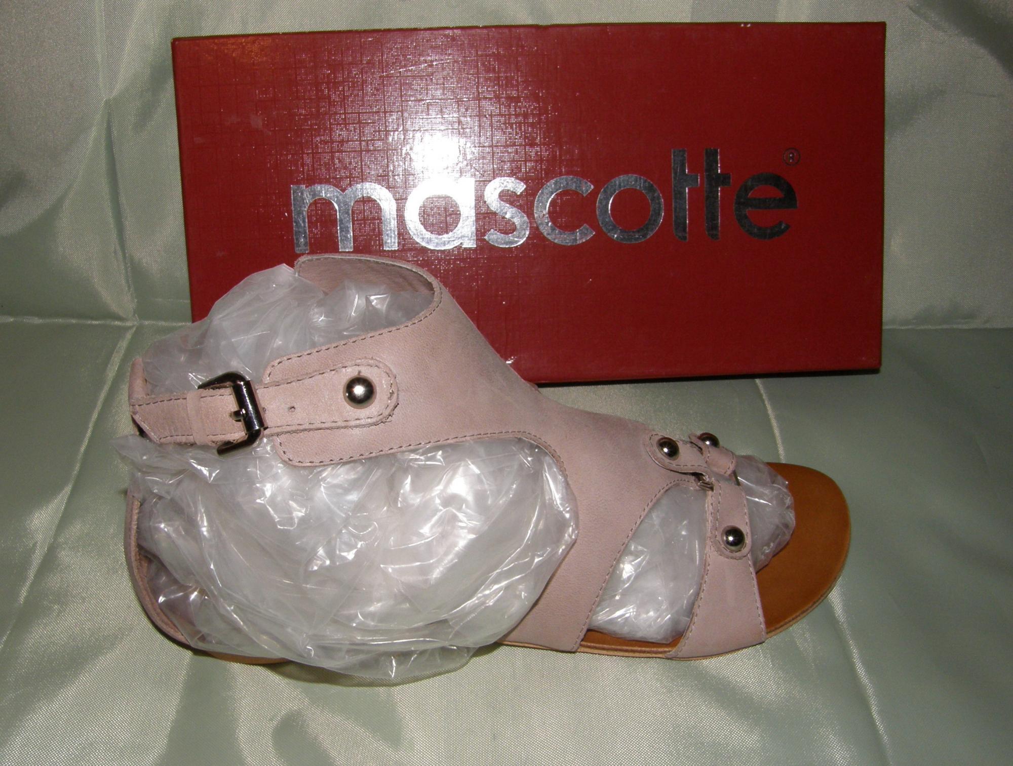 Новые Mascotte р38-39 сандалии босоножки нат. кожа в Москве купить 3