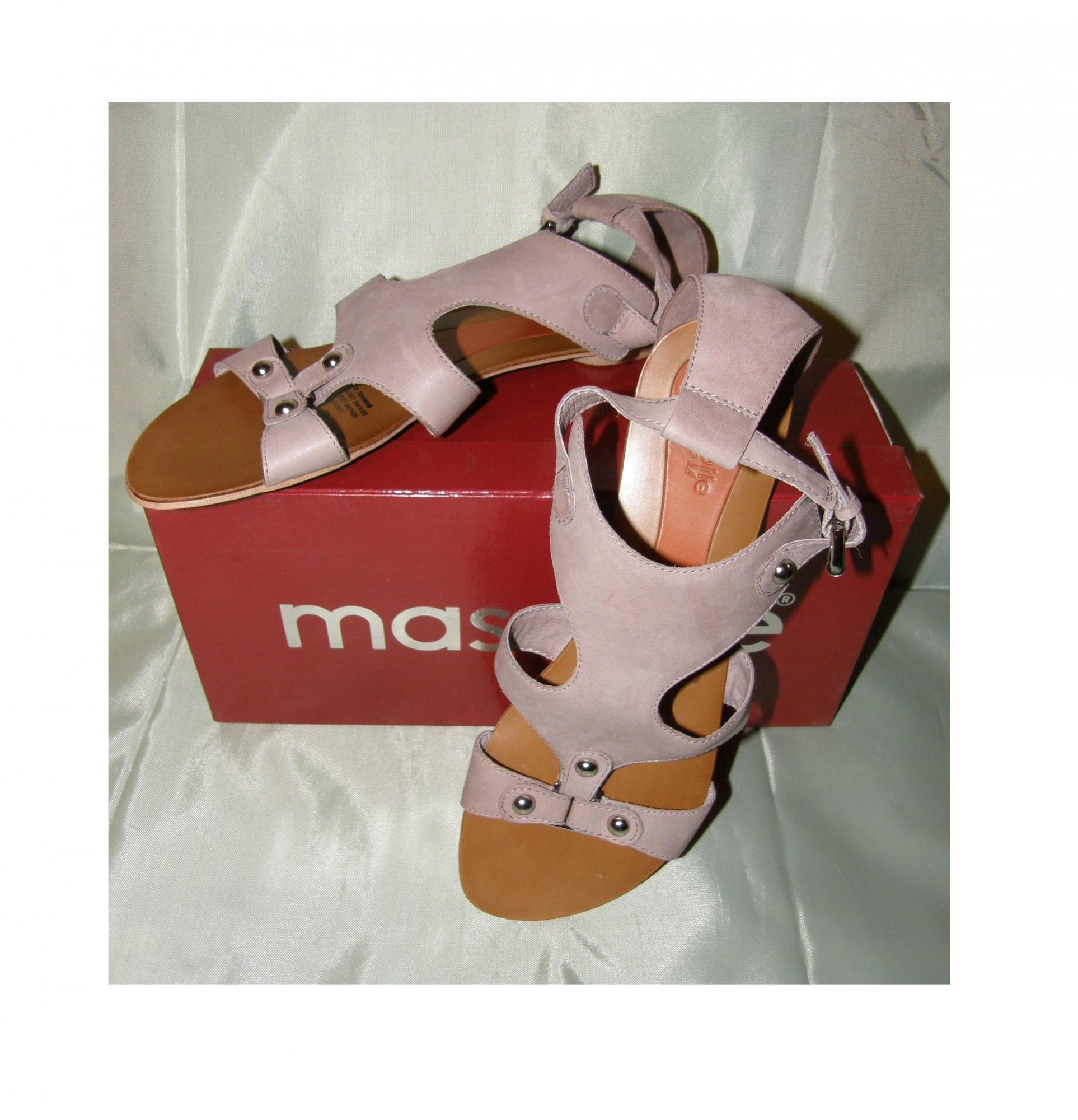 Новые Mascotte р38-39 сандалии босоножки нат. кожа в Москве купить 1