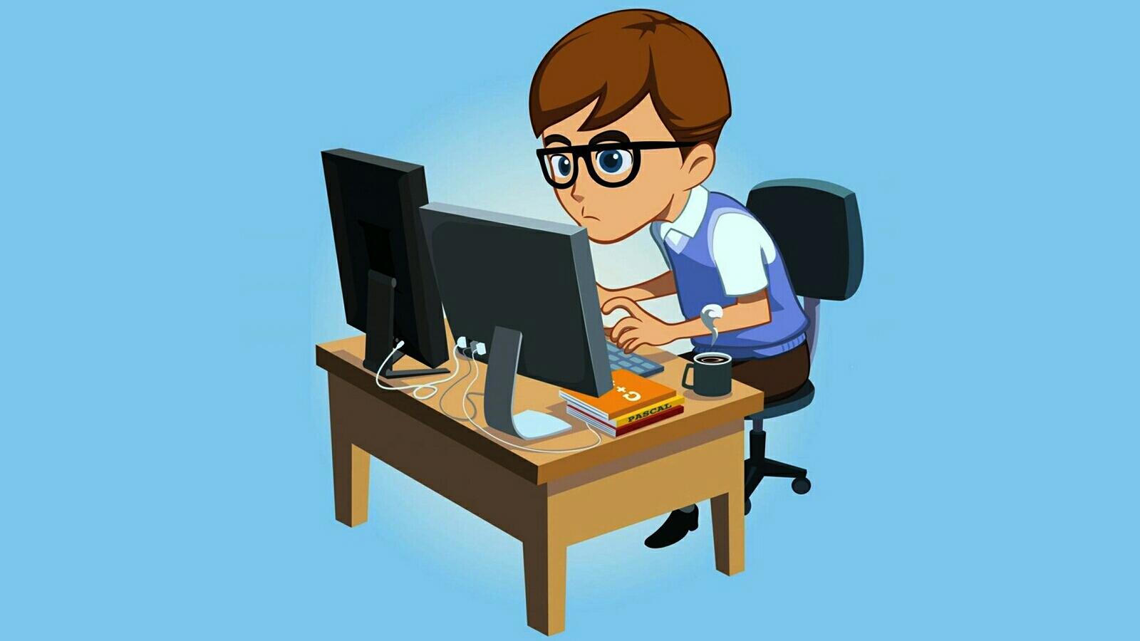 Картинка программиста для детей