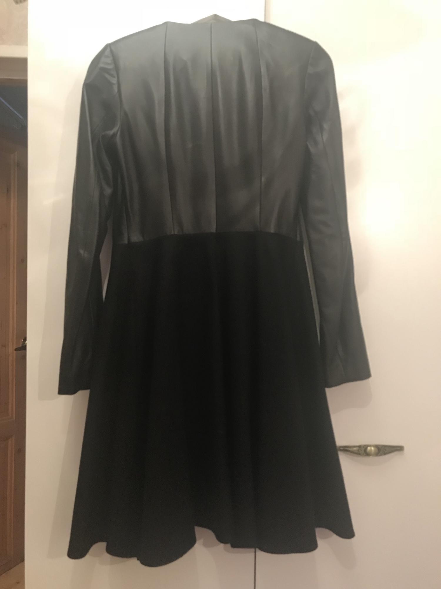Кожаное пальто Mondial