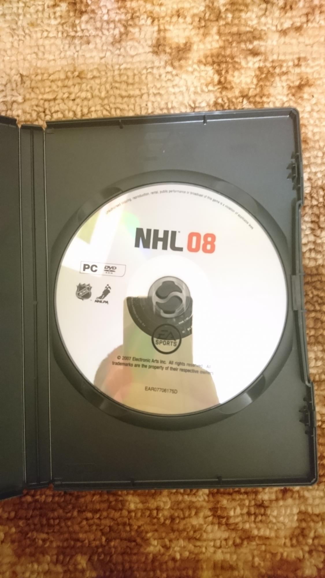 NHL 08 в Одинцово 89161817099 купить 3