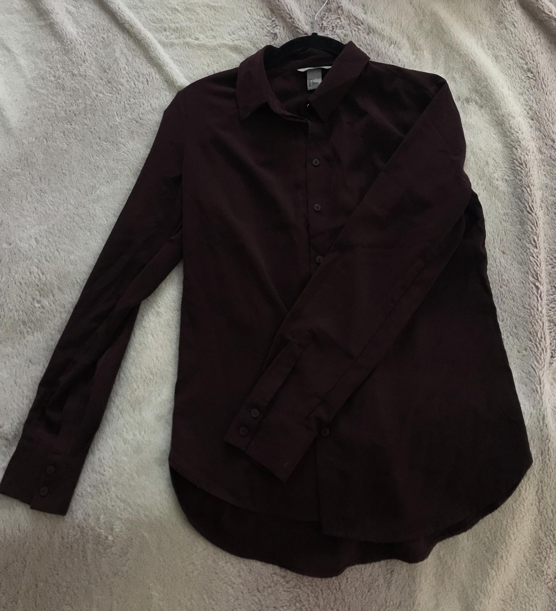 Бардовая, классическая рубашка в Тюмени 89068864725 купить 1