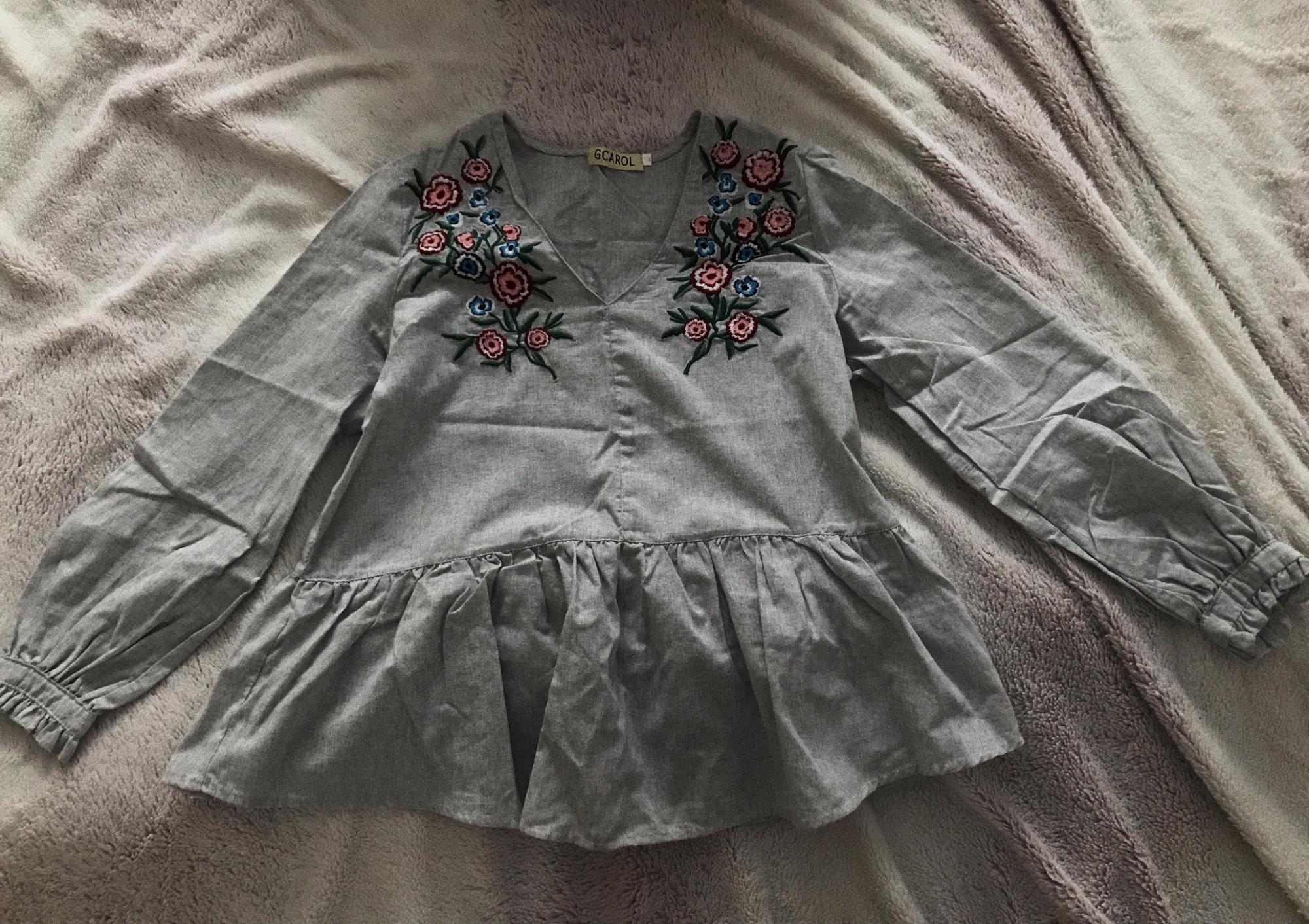 Модная рубашка с вышивкой в Тюмени 89068864725 купить 1
