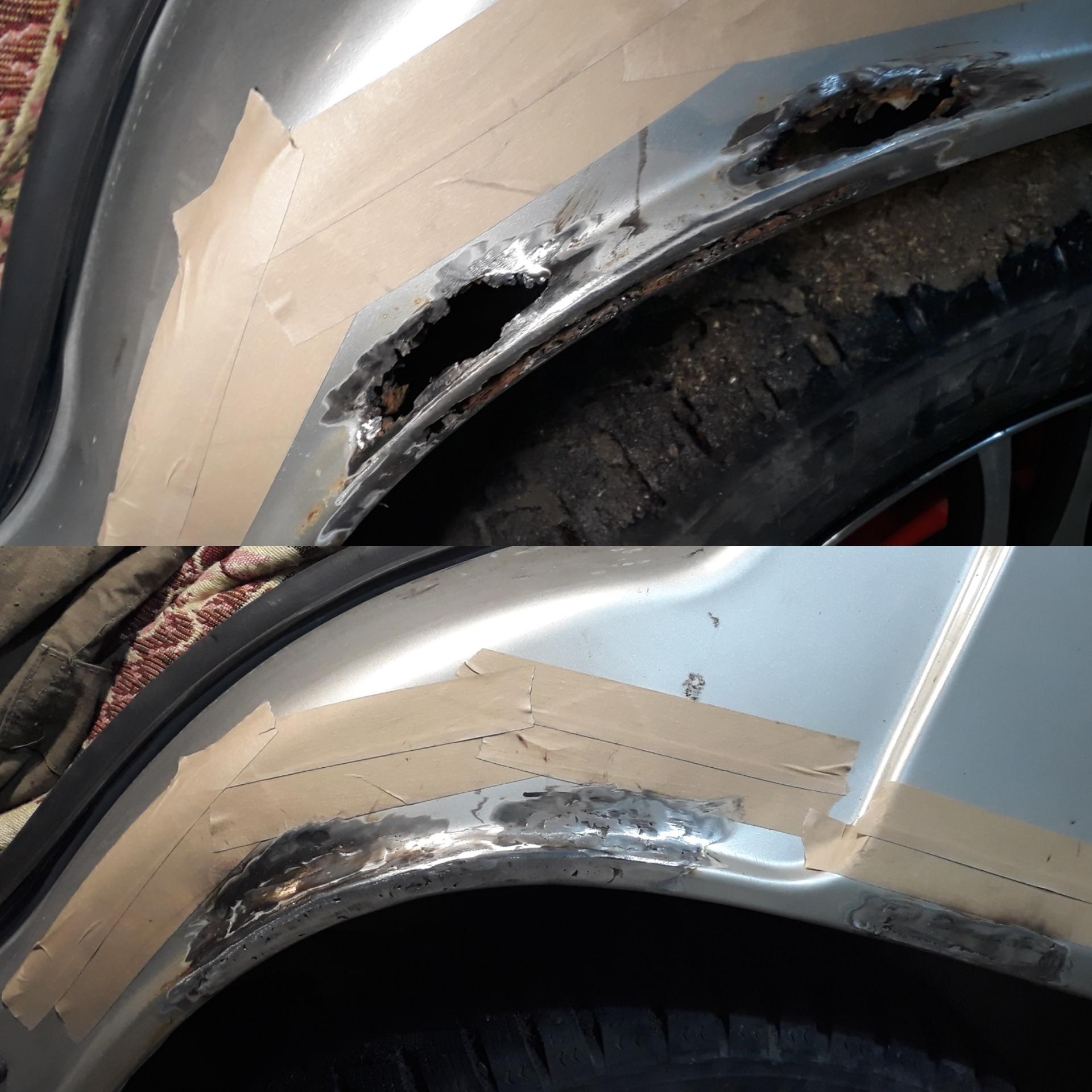 Кузовной ремонт сварочные работы в Пензе купить 1