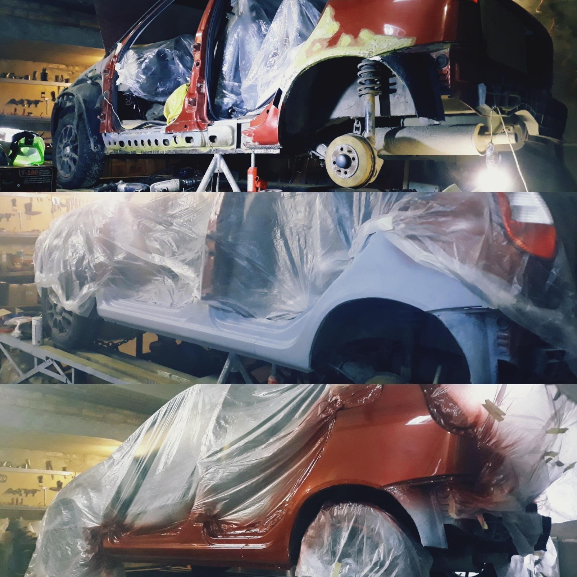 Кузовной ремонт сварочные работы в Пензе купить 3