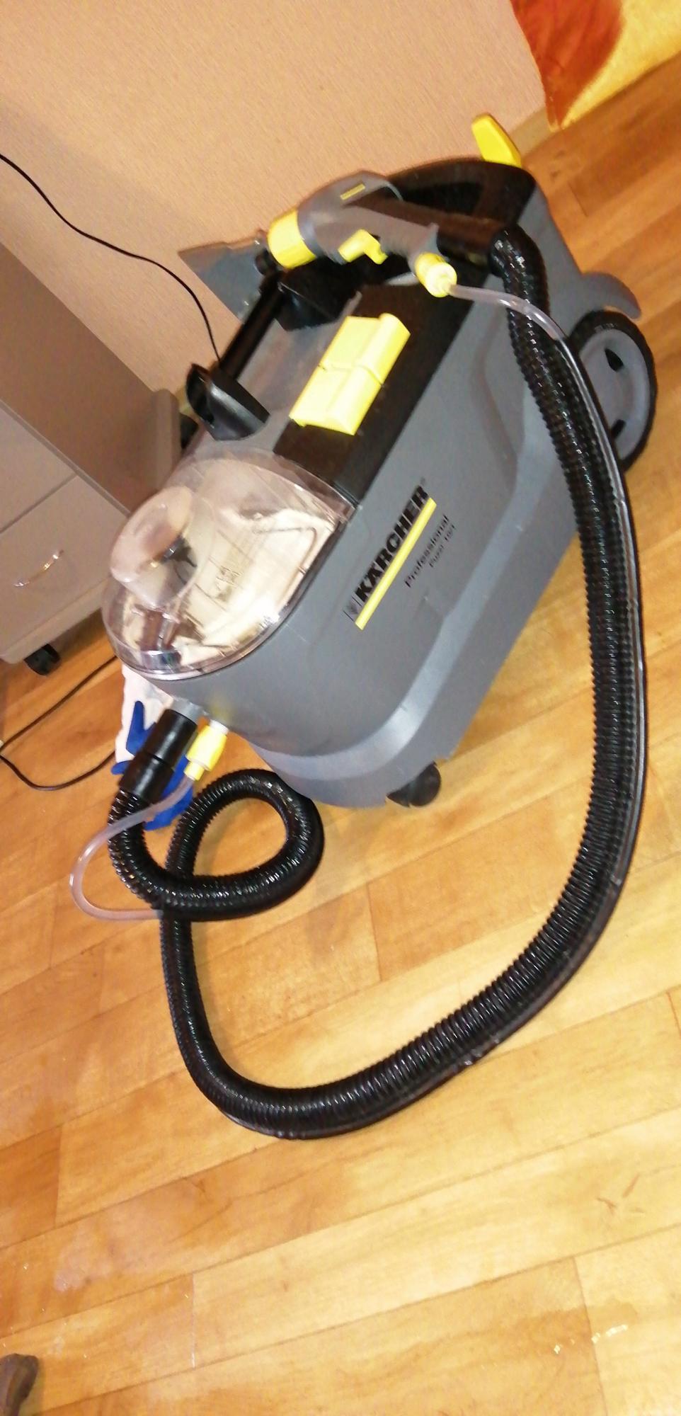 Kemtvätt av mjuka möbler och mattor Podolsk köp 1