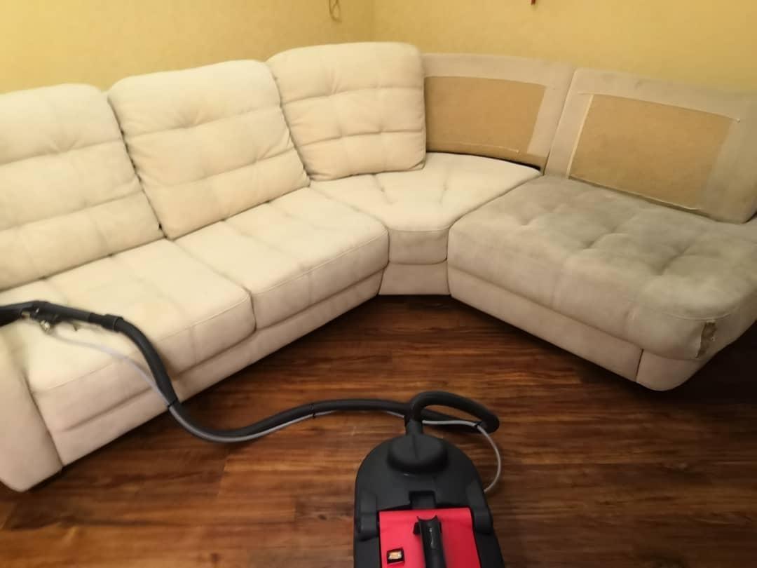 Kemtvätt av mjuka möbler och mattor. i Moskva köp 4
