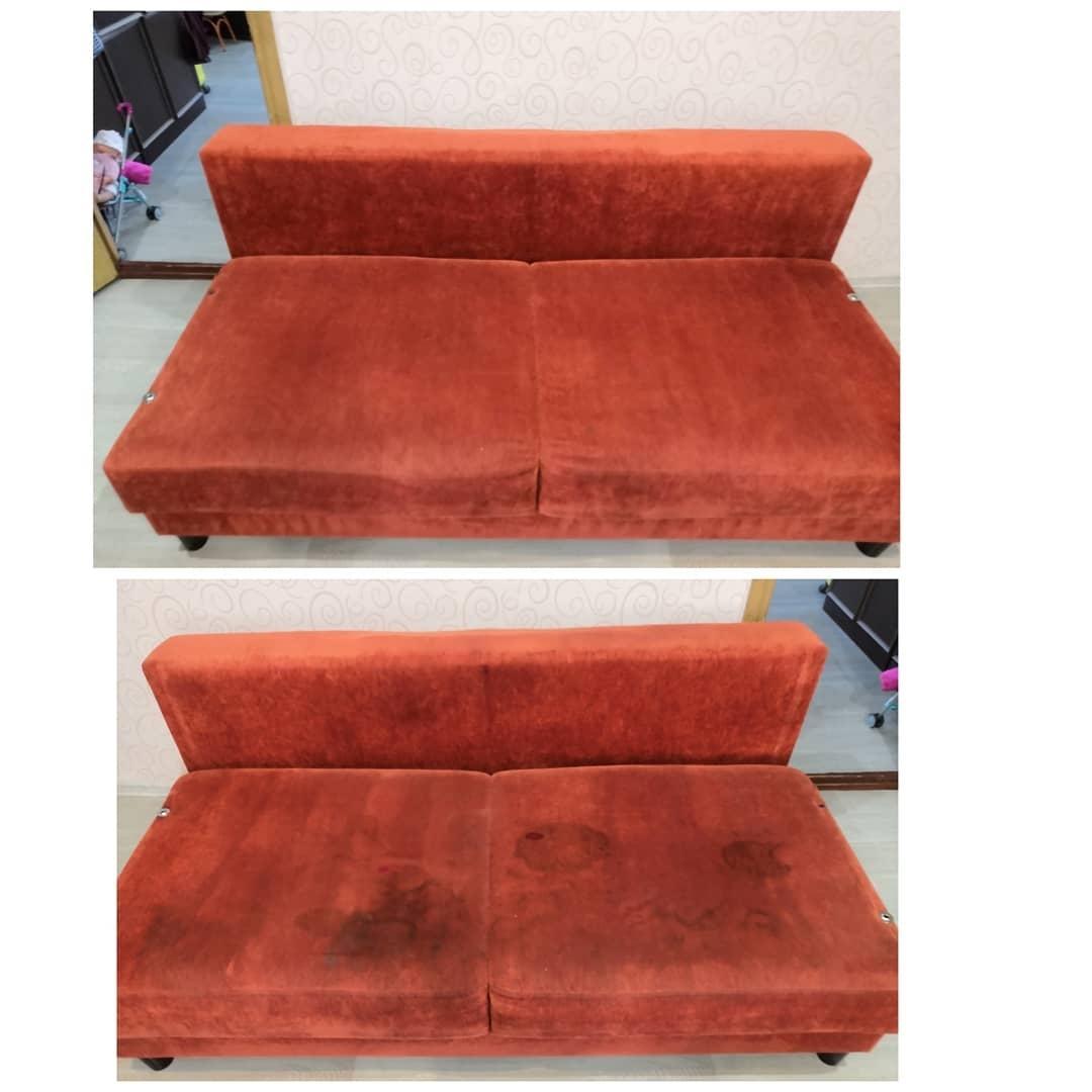 Kemtvätt av mjuka möbler och mattor. i Moskva köp 7