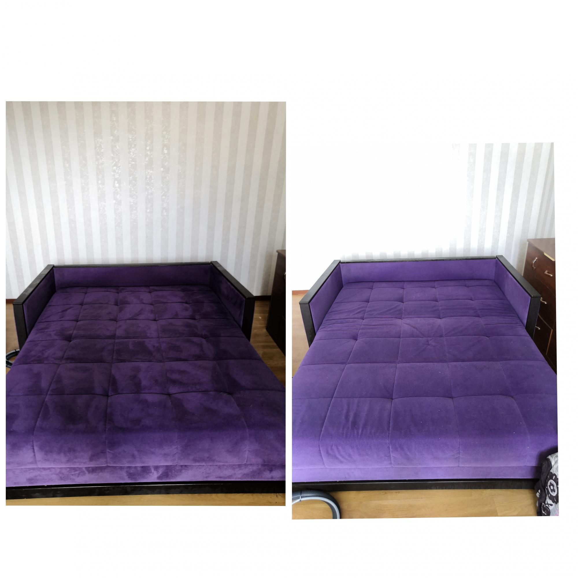 Kemtvätt av mjuka möbler och mattor. i Moskva köp 9