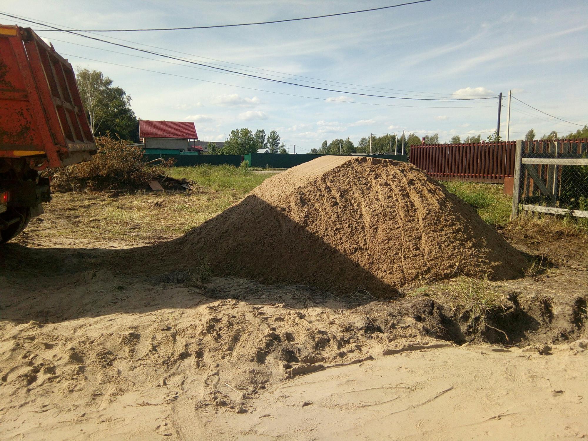 25 кубов песка