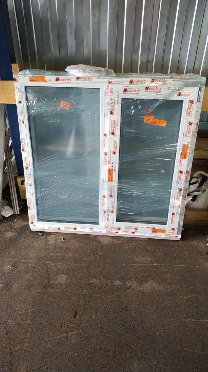Готовое пластиковое окно двухстворчатое 1200x1400 в Москве 89253899134 купить 1
