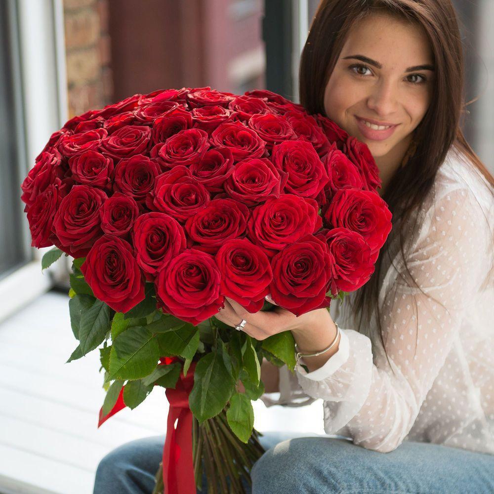 Название букет из 51 розы спб, цветы санкт