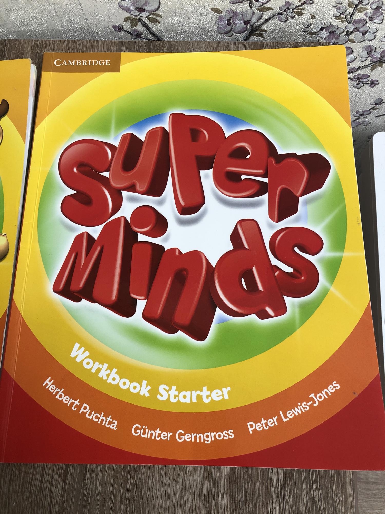Учебник/ рабочая тетрадь английский super minds 89036262558 купить 1