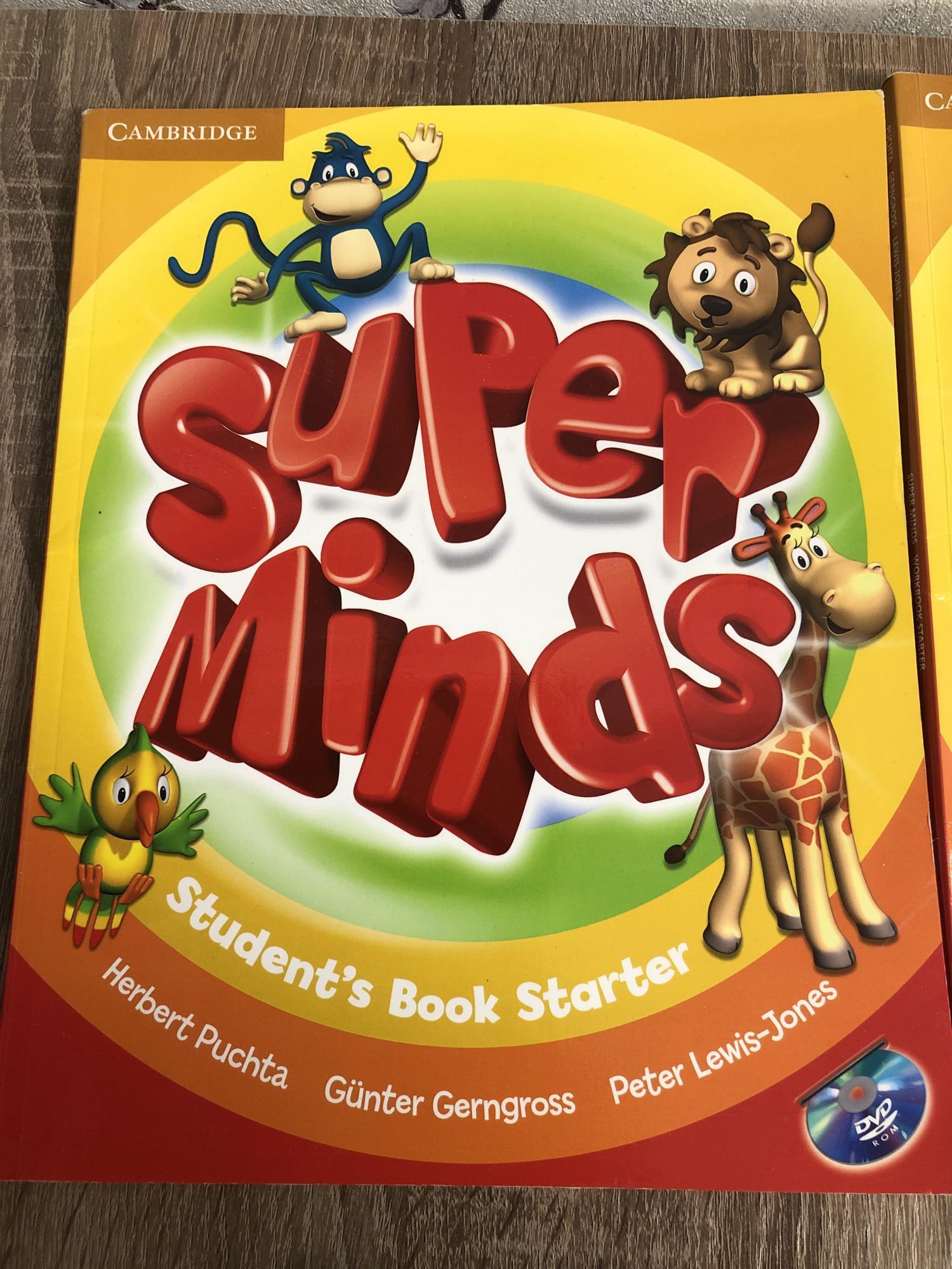 Учебник/ рабочая тетрадь английский super minds 89036262558 купить 2