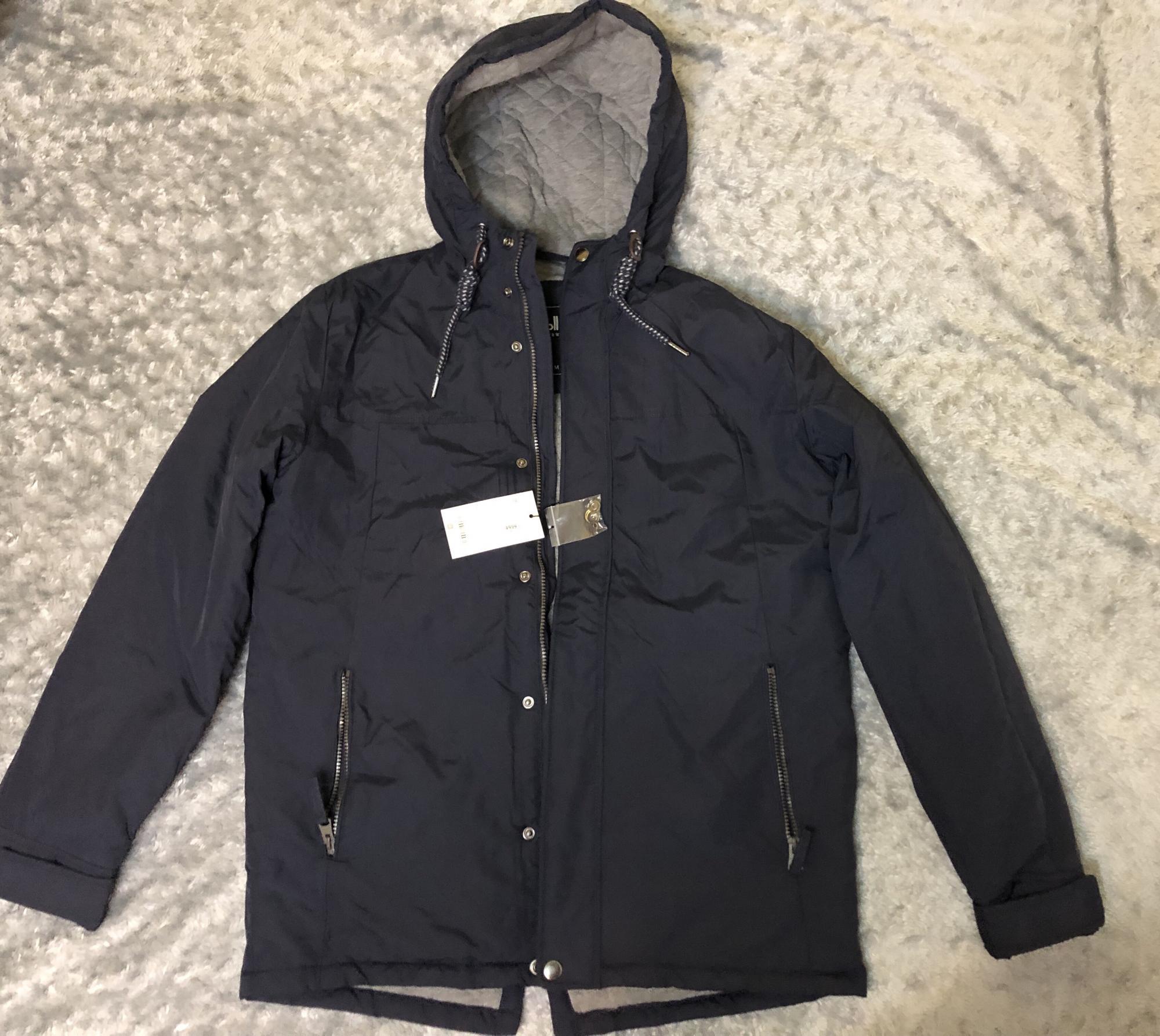 Мужская куртка Zolla, с капюшоном в Москве 89256096656 купить 1