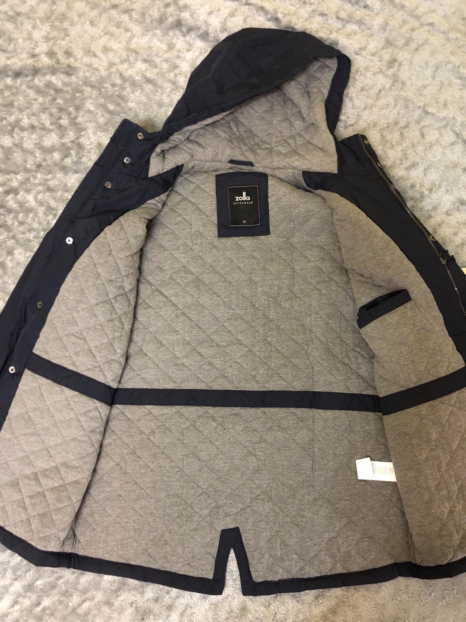 Мужская куртка Zolla, с капюшоном в Москве 89256096656 купить 5