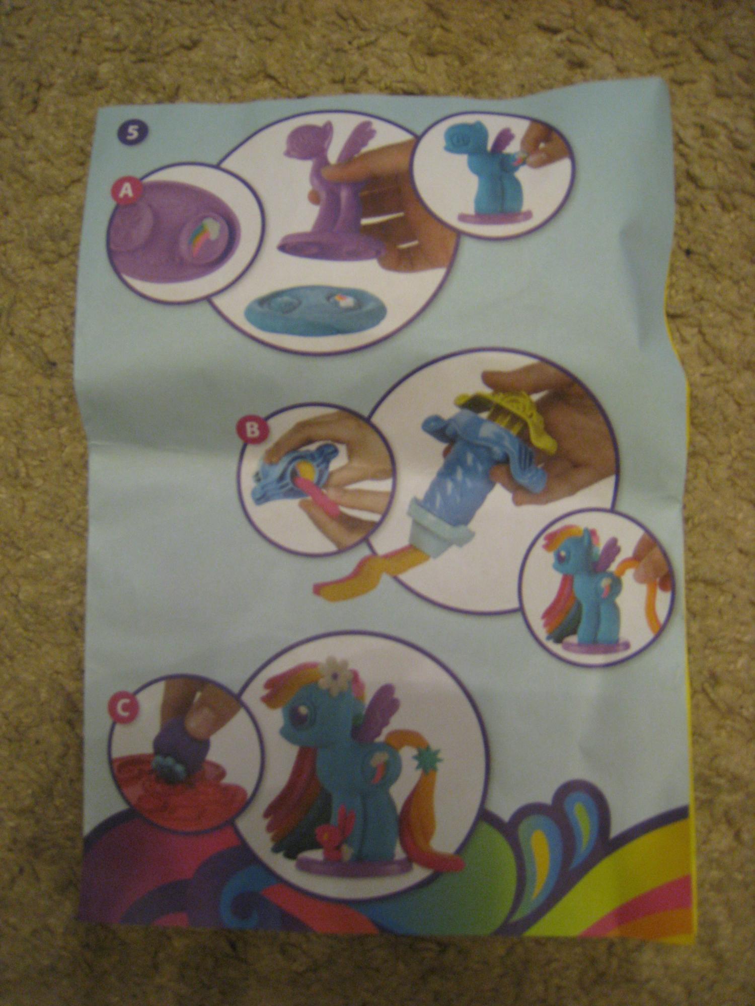 Набор Play-Doh Создай любимую пони в Москве 89161988278 купить 4